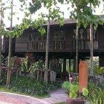 The beautiful rice barn villa