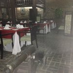 Old stables within Grogg Restaurant