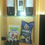 Goodies in the minibar