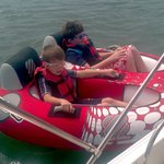 Kids love the double tube