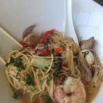 seafood noodle bowl