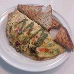 Artisian Omelette