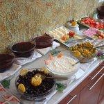 part of buffet breakfast