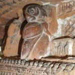 A terracotta fresco
