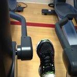 cramped gym space