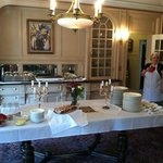 Special events and breakfast buffet -- bring your friends!