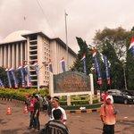 Entrance of the Masjid-e-Istiqlal