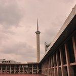 Needle like minaret of the Masjid