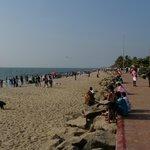 пляж Cherai