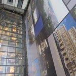 Il tetto della sala colazione visto dalla camera 308