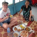 trip on the perfume river with locals