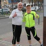 Beate & Moshe Sight Running in Berlin