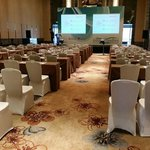 convention in the hotel