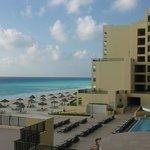 vista dalla suite con spiaggia