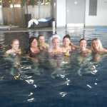 Some of us enjoying the facilities!