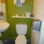 Toilettes dans la SDB