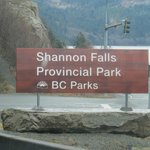 Shannon Falls PP BC