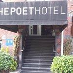Poet Hotel entrance