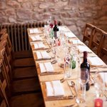 Private dining in the intimate galley room