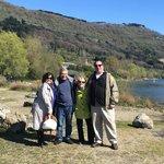 With Rolando at the Lake-Castel Gandolfo
