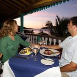 Elegant dining with stunning views