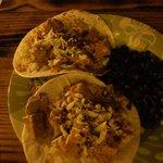tacos pesce e fagioli neri