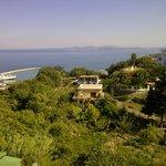 Vista spettacolare dalla terrazza dell'Hotel Villa D'Orta