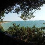 Balcony Otres beach view