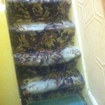 Loose stair carpets