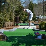Putt-Putt with new obstacles