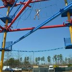 Ropes Course - my 9 year old