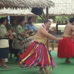 Tribal dance and music