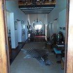 Lodge lobby