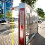 Bus stop to Seville near hotel
