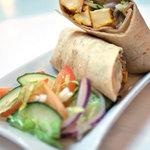 Chicken/Paneer Wrap, Itihaas Brasserie, Birmingham Selfridges