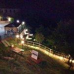 Panoramica notturna ristorante b&b