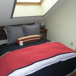 Loft and full bed