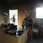 A cozinha da Januária e o seu fogão a lenha