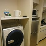 Well equipped room - washer/dryer, microwave, fridge, cooking utensils