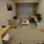 Well equipped room - TV, DVD player, music player
