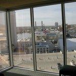 Overlooking Colorado river from room - major windows !
