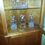 free decanters Gin Whisky Vodka
