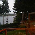 Vista desde el deck.