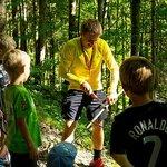Kinderbetreuung im Wald