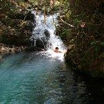 secret pool and waterfall