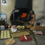 the bread shop in the souks