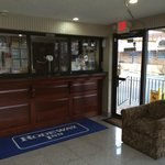 New Lobby Rodeway Inn