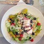 Antipasto Salad: Lightly dressed and crisp