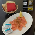 Smoked salmon .... mmmm