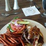 Caribou burger